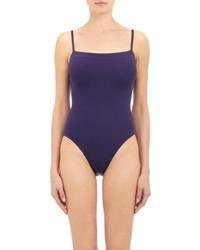 Eres Aquarelle One Piece Swimsuit Blue