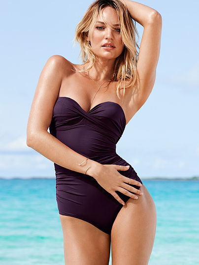 6dbbea9fb8400 Victoria's Secret Forever Sexy The Knockout One Piece, $78 ...