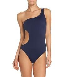 Milly Guana Asymmetrical One Piece Swimsuit