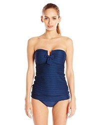 Jessica Simpson Seashells Bandeau Swimsuit