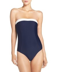 Ted Baker London Strapless One Piece Swimsuit