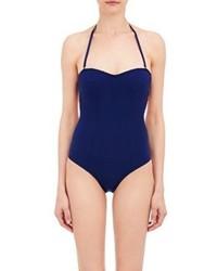 Kiki de Montparnasse Microfiber One Piece Swimsuit Blue