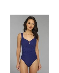 Miraclesuit Fashion Figures Gandolf Underwire One Piece Swimsuits One Piece Marine Blue