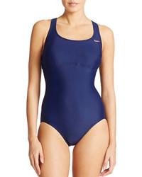 Nike Open Back One Piece Swimsuit