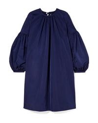 Calvin Klein 205W39nyc Gathered Taffeta Dress