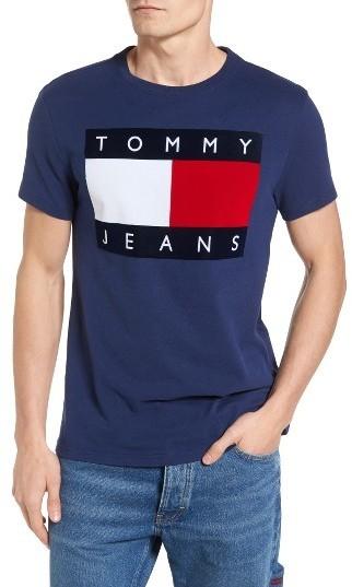 ca7b0192 Tommy Hilfiger 90s Flat T Shirt, $50 | Nordstrom | Lookastic.com