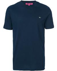 McQ Alexander Ueen Swallow Badge T Shirt