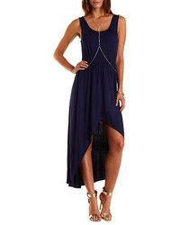 Charlotte Russe High Low Tulip Slit Tank Dress