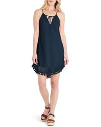 Michael Stars Michl Stars Tassel Trim Tank Dress