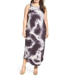 Plus size tie dye maxi tank dress medium 3773189