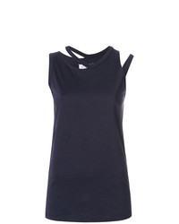 Maison Margiela Cut Detail Tank Top