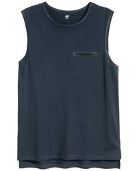 H&M Tank Top With Chest Pocket