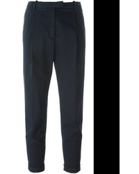 Eleventy tapered cropped trousers medium 690613