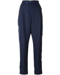 Emporio Armani Tapered Layered Trousers