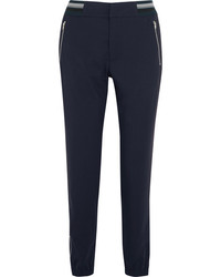 Tim Coppens Lux Jogger Stretch Wool Tapered Pants Midnight Blue