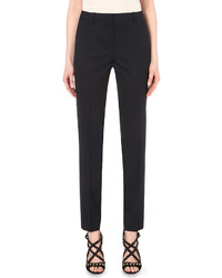 The Kooples Tapered Stretch Wool Trousers