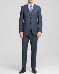 Canali Basket Weave Three Piece Suit Classic Fit Bloomingdales