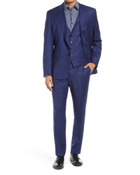BOSS Helward Genius Slim Fit Wool Suit