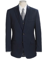 Ralph Lauren Lauren By Lahey Wool Twill Suit 3 Piece