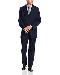 Stacy Adams Big Tall Suny Vested Three Piece Suit