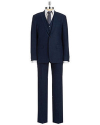 John Varvatos Usa Linen 3 Piece Suit Set