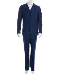 Paul Smith Wool Three Piece Suit