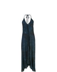 Navy Tie-Dye Shift Dress