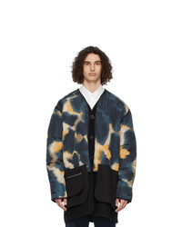 MAISON KITSUNÉ Multicolor Army Coat