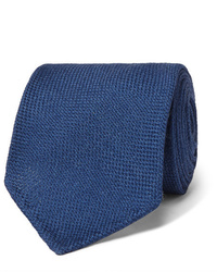 Drake's 8cm Wool Silk And Cashmere Blend Tie