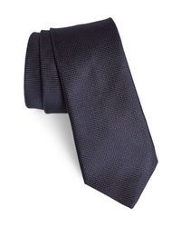 John Varvatos Star USA Dot Linen Cotton Tie