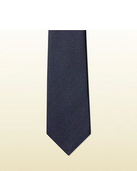 Gucci Anchor Crest Silk Tie