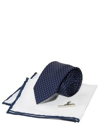 The Tie Bar Mini Dot Formal Tie Set