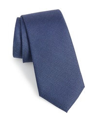 Calibrate Sargent Solid Silk Cotton Tie