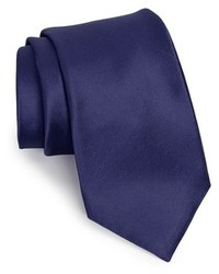 Shop solid satin silk tie medium 176911