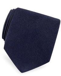 Solid twill silk tie medium 176920