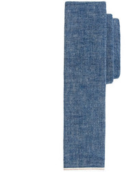 J.Crew The Hill Side Japanese Selvedge Chambray Tie