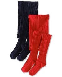 Jefferies Socks Cable Tights 2 Pack Hose