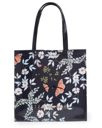 Ted Baker London Large Icon Kyoto Gardens Tote Blue