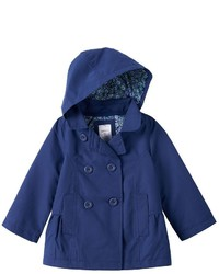 Carter's Baby Girl Hooded Trench Jacket