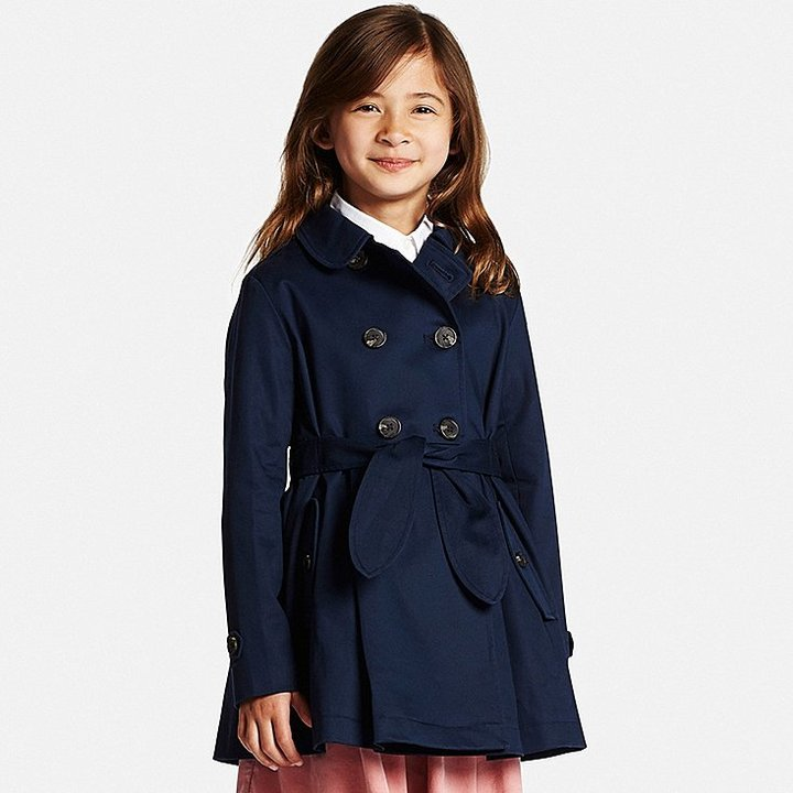 Image result for girls trench coat