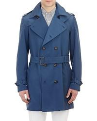 Aquascutum London Aquascutum Patmore Trench Coat Blue