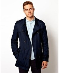 Asos Brand Belted Trench Coat