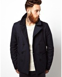 Asos Brand Trench Coat With Military Detail