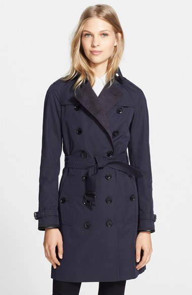 Burberry Brit Felden Double Breasted Trench Coat   Where to buy ... 4568717dd5f