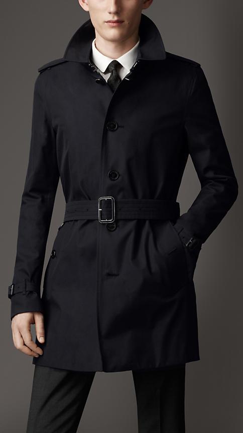 2325056ade5d Burberry Cotton Gabardine Trench Coat, $1,695 | Burberry | Lookastic.com
