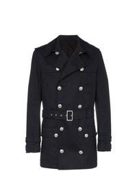 Balmain D Short Trench Coat