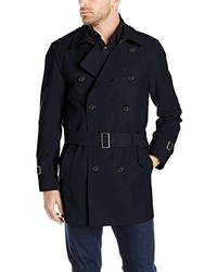 Hart Schaffner Marx Horner Short Trench Raincoat