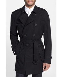 Kensington double breasted trench coat medium 380415