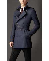 Burberry Mid Length Lightweight Cashmere Trench Coat