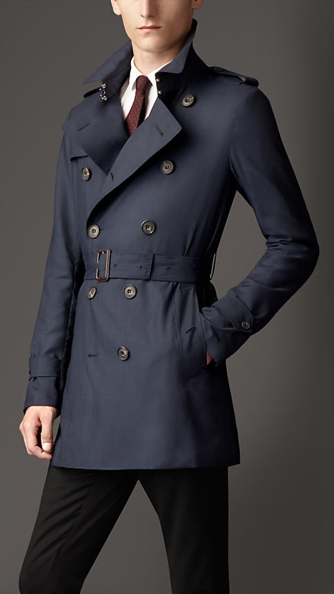Burberry Mid Length Lightweight Cashmere Trench Coat | Where to ...
